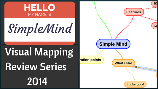 SimpleMind Review (iOS) – Visual Mapping Review Series 2014