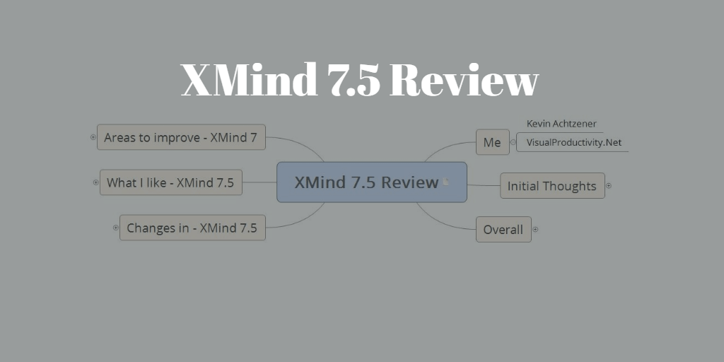 XMind Review – What's new in XMind 7.5