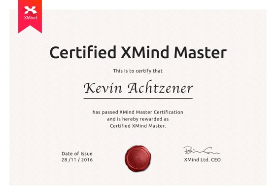 certified xmind master